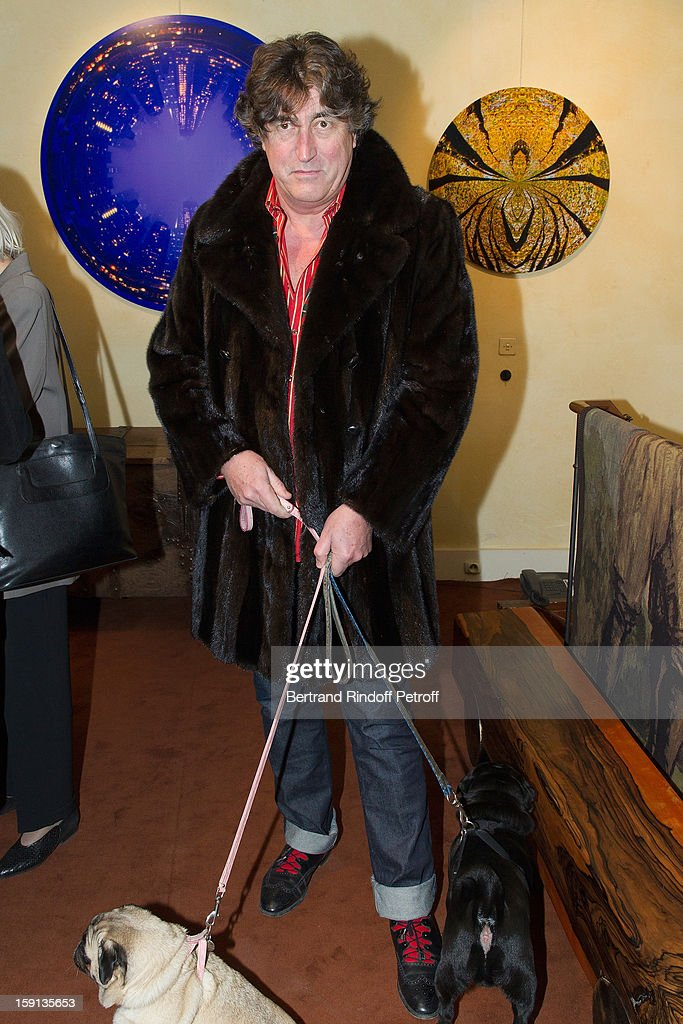 Didier Ludot attends the 'Sorcieres' (Witches) exhibition preview at Galerie Pierre Passebon on January 8, 2013 in Paris, France.