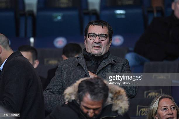 Didier Quillot executive general manager of LFP during the French Ligue 1 match between Paris Saint Germain and Nice at Parc des Princes on December...