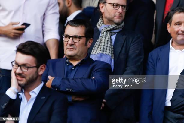 Didier Quillot executive general manager of LFP during the Ligue 1 match between Paris Saint Germain and FC Girondins de Bordeaux at Parc des Princes...