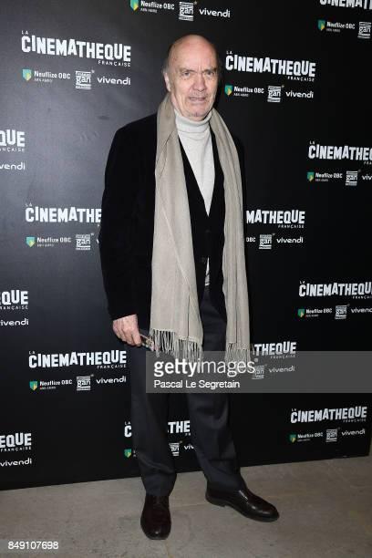 Didier Rappeneau attends 'Happy End' Paris Premiere at la cinematheque on September 18 2017 in Paris France