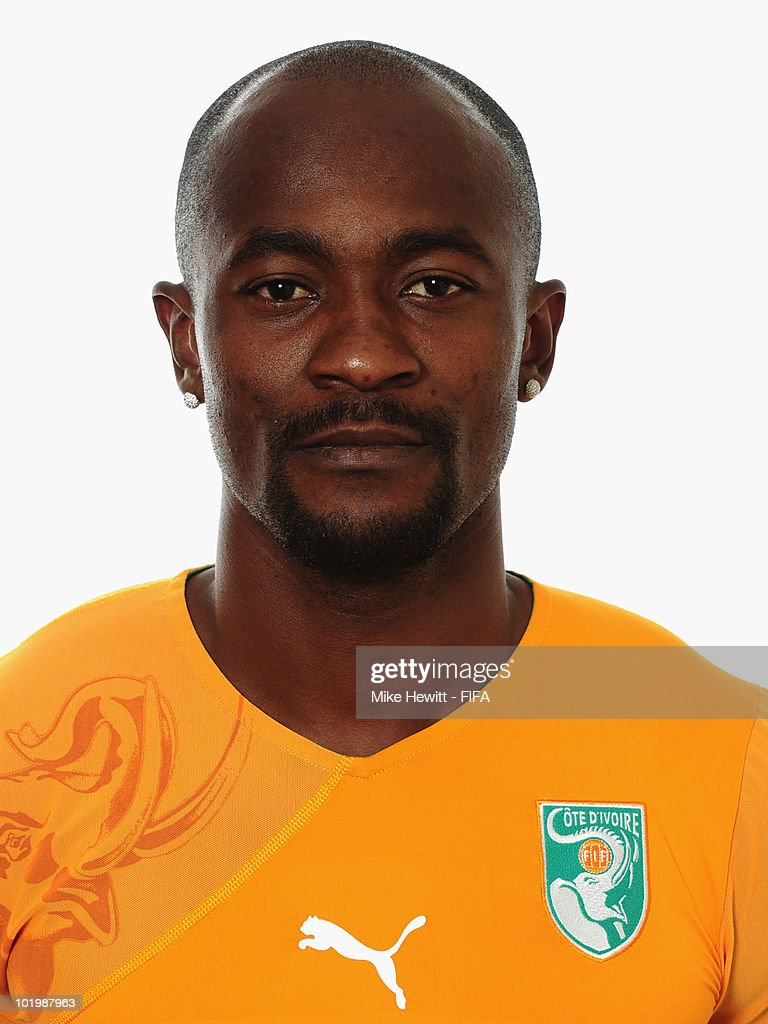 <a gi-track='captionPersonalityLinkClicked' href=/galleries/search?phrase=Didier+Zokora&family=editorial&specificpeople=550698 ng-click='$event.stopPropagation()'>Didier Zokora</a> of Ivory Coast poses for a portrait during the 2010 FIFA World Cup on June 11, 2010 in Vanderbijlpark, South Africa.