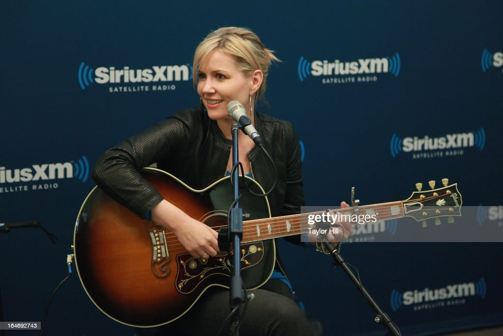 Dido performa on The Blend at SiriusXM Studios on March 26, 2013 in New York City.