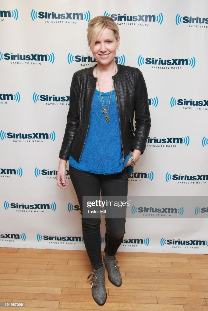Dido visits SiriusXM Studios on March 26, 2013 in New York City.