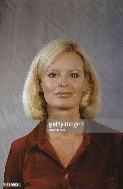 Die deutsche Fernsehschauspielerin Claudia Neidig Aufgenommen um 2000