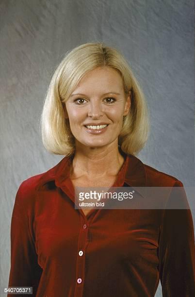 Die deutsche Fernsehschauspielerin Claudia Neidig Undatiertes Foto