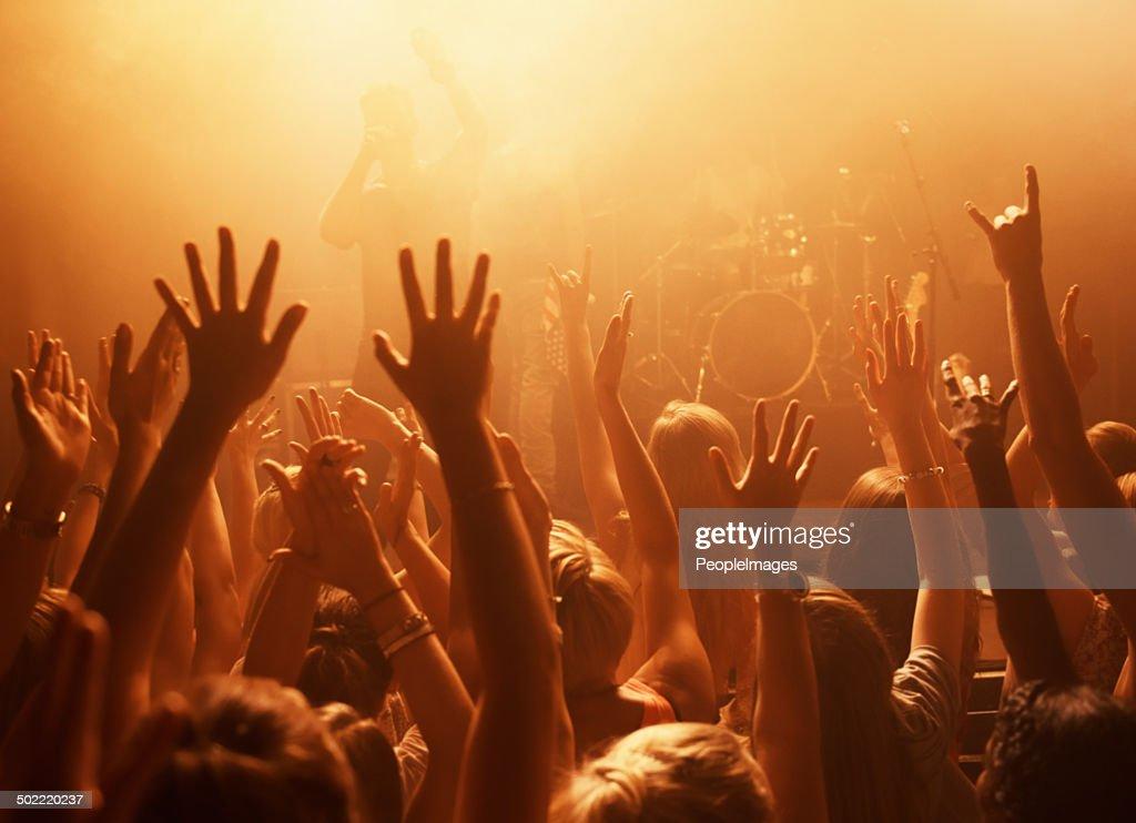Die hard fans : Stock Photo