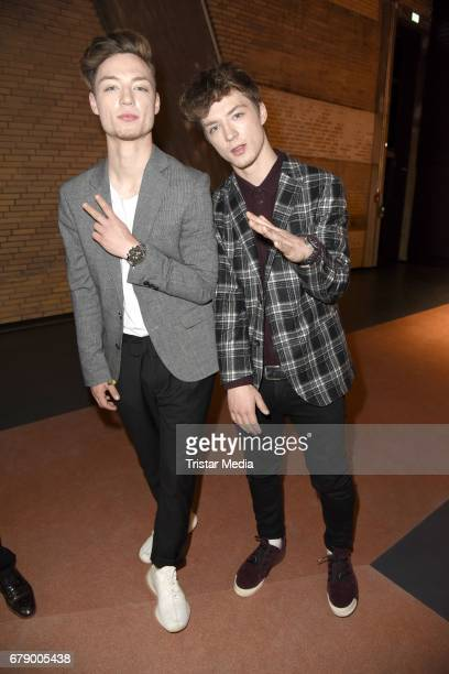 Die Lochis attend the About You Awards on May 4 2017 in Hamburg Germany
