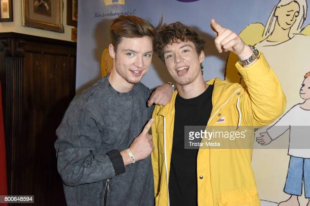 Die Lochis attend the Kinderschutzengel SommernachtstraumGala 2017 at Queens 45 bc Event und Tagungslocation GmbH on June 24 2017 in Berlin Germany