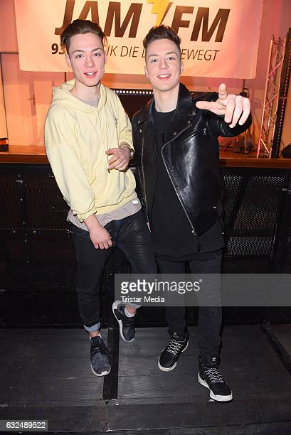 'Die Lochis' during the 936 JAM FM Radio Schulkonzert on January 23 2017 in Berlin Germany