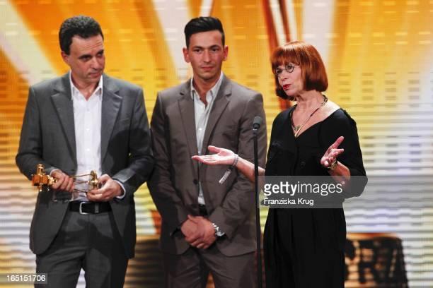 Die Produzenten Des Films 'Zivilcourage' Bei Der Verleihung Der 46 Goldenen Kamera In Der UllsteinHalle In Berlin