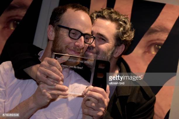 Die Regisseure Barak und Thomer Heymann mit dem Panorama Publikums Preis für den Film Who´s Gonna Love Me Now anlässlich der 66 Internationalen...