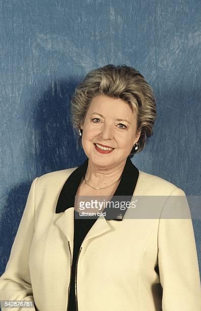 Die Schauspielerin MarieLuise Marjan spielt die Mutter Beimer in der TVSerie 'Lindenstraße' Aufgenommen um 1999