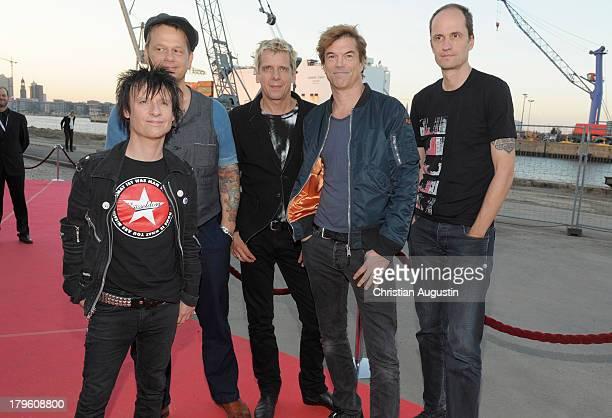 Die Toten Hosen attend 'Deutscher Radiopreis' at Schuppen 52 on September 5 2013 in Hamburg Germany