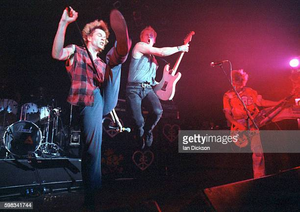Die Toten Hosen performing on stage at The Forum Kentish Town London 30 October 1994