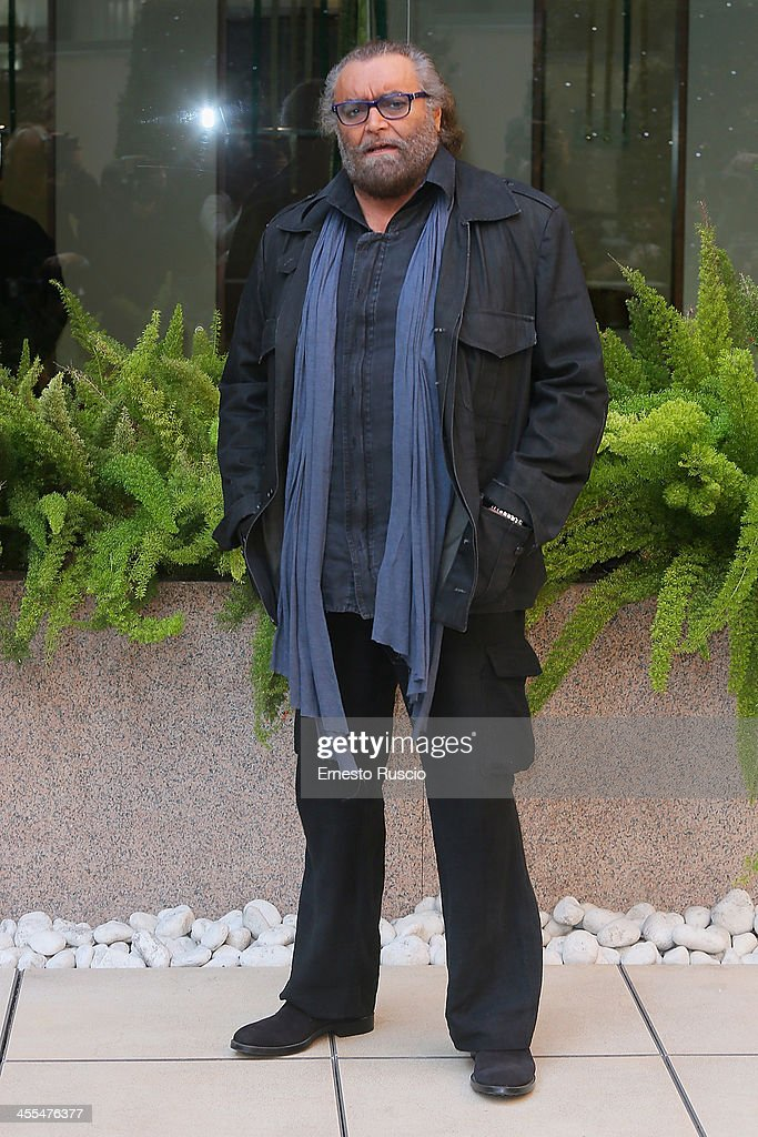 Diego Abatantuono attends the 'Indovina Chi Viene A Natale' Photocall at Hotel Visconti on December 12, 2013 in Rome, Italy.