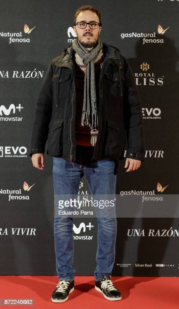 Diego Arjona attends the 'Una razon para vivir' premiere on November 9 2017 in Madrid Spain