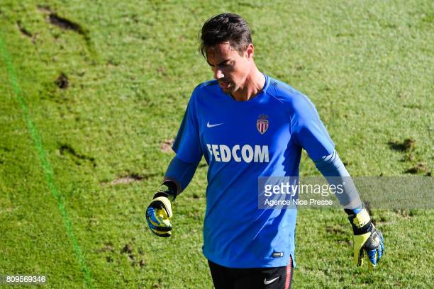 Diego Benaglio of Monaco during the training session of AS Monaco on July 5 2017 in Monaco Monaco
