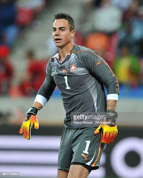 Diego Benaglio Switzerland goalkeeper