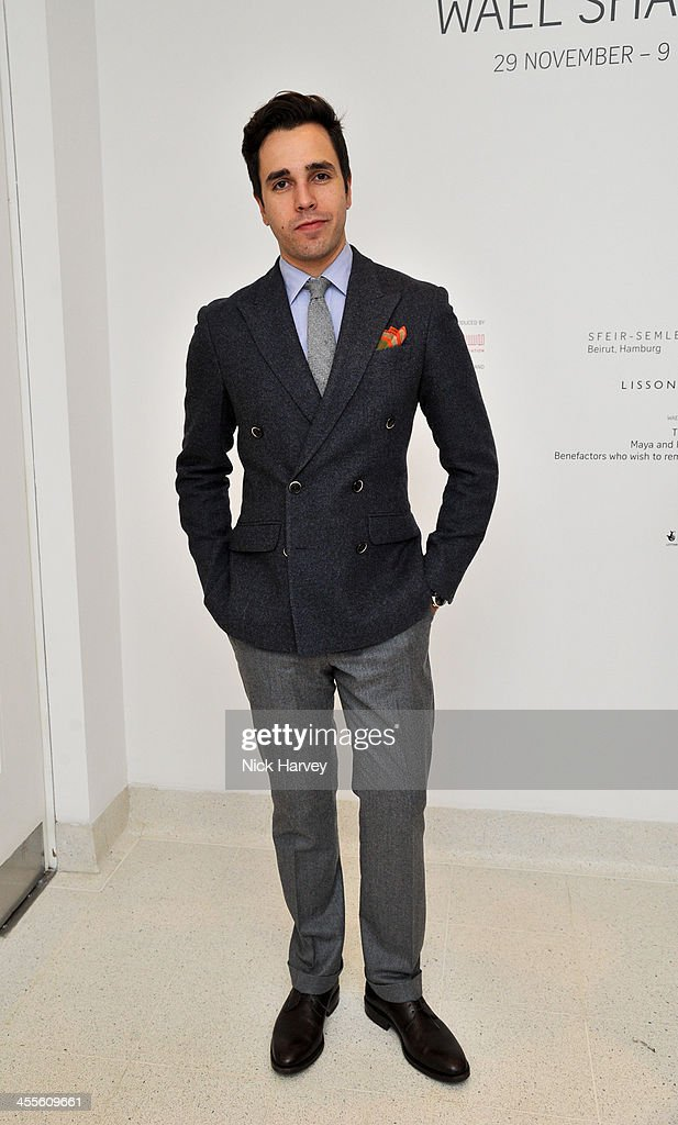 Diego Bivero-Volpe attends 'The Artists' Colouring Book of ABCs' Launch event at The Serpentine Gallery on December 12, 2013 in London, England.
