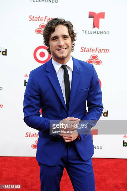 Diego Boneta attends the 2014 Billboard Latin Music Awards at Bank United Center on April 24 2014 in Miami Florida