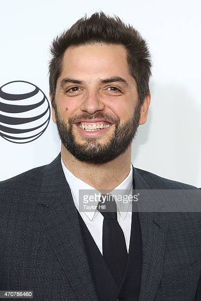 Diego Bunuel attends the world premiere of 'Live From New York' at The Beacon Theatre on April 15 2015 in New York City