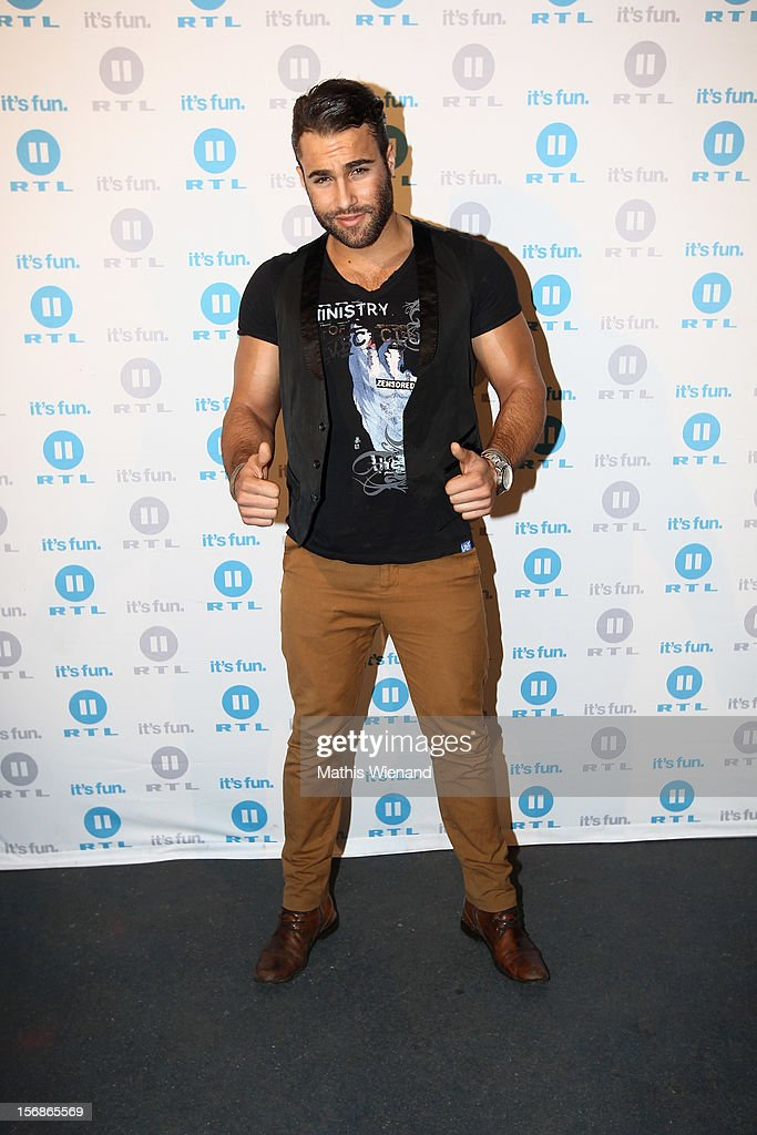 Diego Cortez attends the 'Koeln 50667' Press Conference at the Kunstbar on November 23, 2012 in Cologne, Germany.