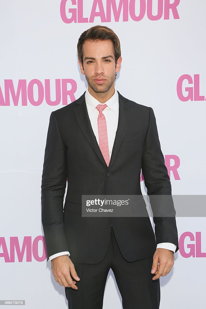 Diego de Erice attends the Glamour Magazine México Beauty Awards 2013 at Museo Rufino Tamayo on February 13, 2014 in Mexico City, Mexico.