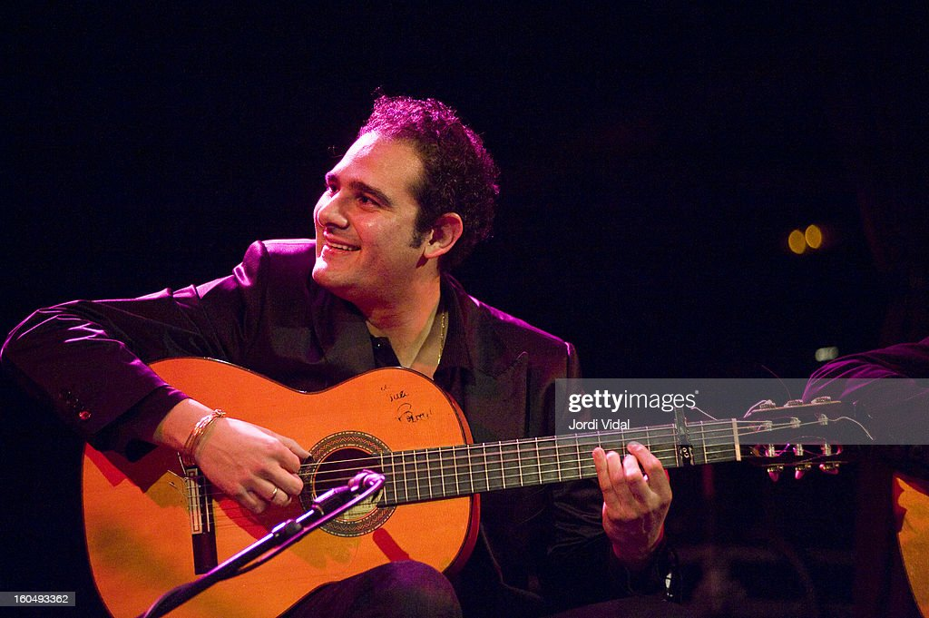 Diego del Morao performs on stage during Caprichos del Apolo at Sala Apolo on February 1, 2013 in Barcelona, Spain.