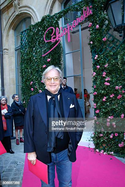 Diego Della Valle attends the Schiaparelli Haute Couture Spring Summer 2016 show as part of Paris Fashion Week on January 25 2016 in Paris France