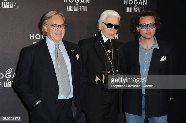 France hogan by karl lagerfeld cocktail party paris for Della valle hogan