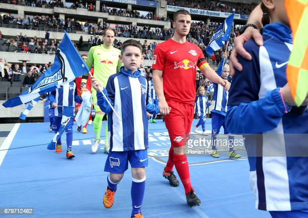 Diego Demme of RB Leipzig during the game between Hertha BSC and RB Leipzig on may 6 2017 in Berlin Germany