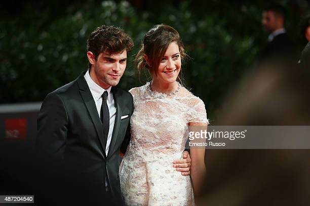 Diego Dominguez and Maria Clara Alonso attend a premiere for 'El Clan' during the 72nd Venice Film Festival at Sala Grande on September 6 2015 in...