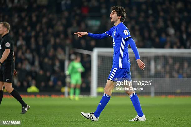 Diego Fabbrini of Birmingham City during the Sky Bet Championship match between Derby County and Birmingham City at iPro Stadium on December 27 2016...