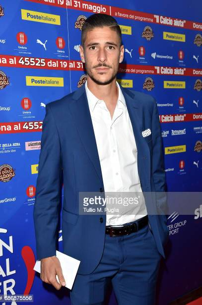 Diego Falcinelli attends 'Un Goal per l'Italia' Event on May 22 2017 in Norcia Italy