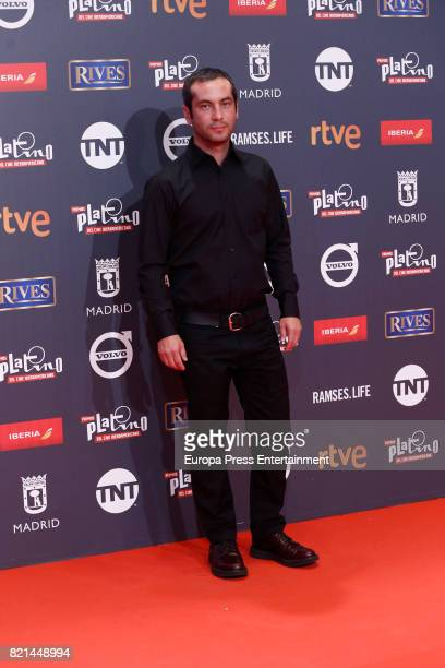 Diego Gracia attends Platino Awards 2017 at La Caja Magica on July 22 2017 in Madrid Spain