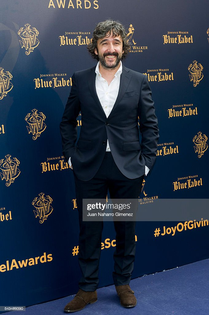 Diego Guerrero attends 'Blue Label Awards' at Residence of the Ambassador of United Kingdom in Spain on June 28, 2016 in Madrid, Spain.