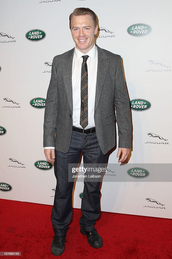 Diego Klattenhoff attends the Jaguar And Land Rover Celebrate 2012 Auto Show Arrivals At Paramount Studios at Paramount Studios on November 27, 2012 in Hollywood, California.