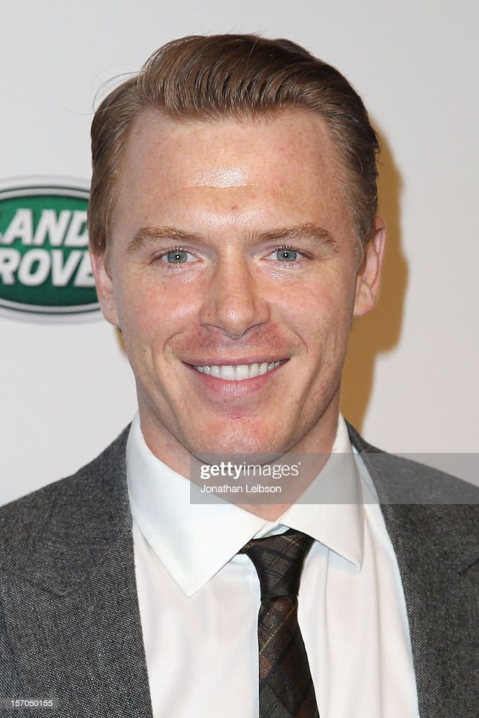<a gi-track='captionPersonalityLinkClicked' href=/galleries/search?phrase=Diego+Klattenhoff&family=editorial&specificpeople=6128795 ng-click='$event.stopPropagation()'>Diego Klattenhoff</a> attends the Jaguar And Land Rover Celebrate 2012 Auto Show Arrivals At Paramount Studios at Paramount Studios on November 27, 2012 in Hollywood, California.