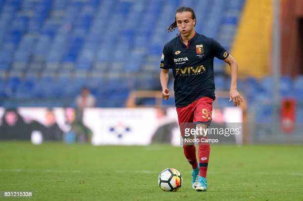 Diego Laxalt of Genoa CFC in action during the TIM Cup football match between Genoa CFC and AC Cesena Genoa CFC wins 21 over AC Cesena
