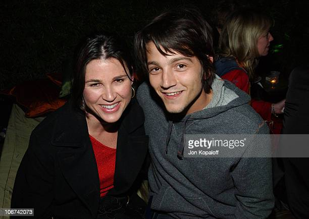 Diego Luna and guest during Endeavor Awards Season Party at Grace Restaurant in Los Angeles California United States
