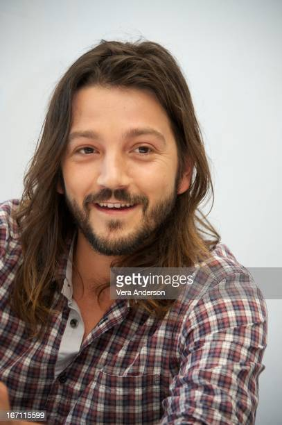 Diego Luna at the 'Elysium' Press Junket on April 20 2013 in Cancun Mexico