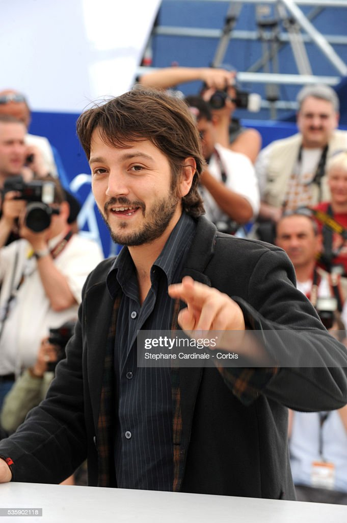 Diego Luna at the photocall for 'Abel' during the 63rd Cannes International Film Festival.