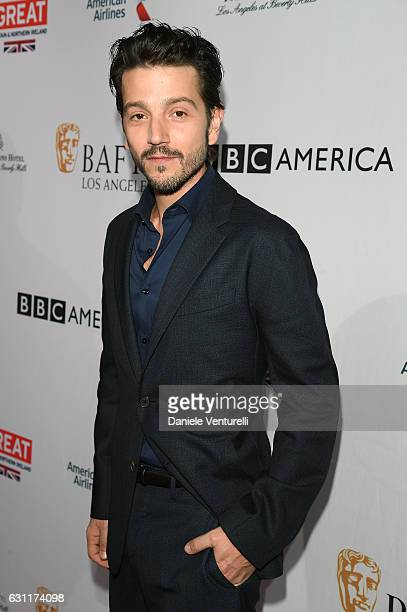 Diego Luna attends The BAFTA Tea Party at Four Seasons Hotel Los Angeles at Beverly Hills on January 7 2017 in Los Angeles California