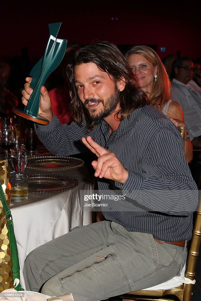 Diego Luna attends the Closing Night Gala for the Baja International Film Festival at the Los Cabos Convention Center on November 17, 2012 in Cabo San Lucas, Mexico.