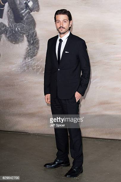 Diego Luna attends the launch event for 'Rogue One A Star Wars Story' at Tate Modern on December 13 2016 in London England