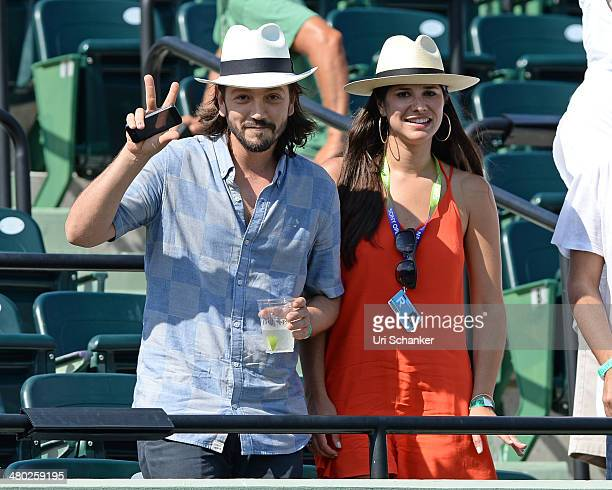 Diego Luna is seen at Sony Open Tennis at Crandon Park Tennis Center on March 23 2014 in Key Biscayne Florida