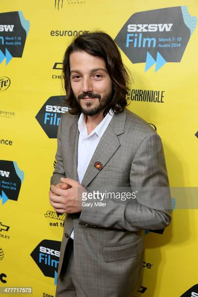 Diego Luna walks the red carpet for the premiere of his new film 'Cesar Chavez' at the Paramount Theater during the South By Southwest Film Festival...
