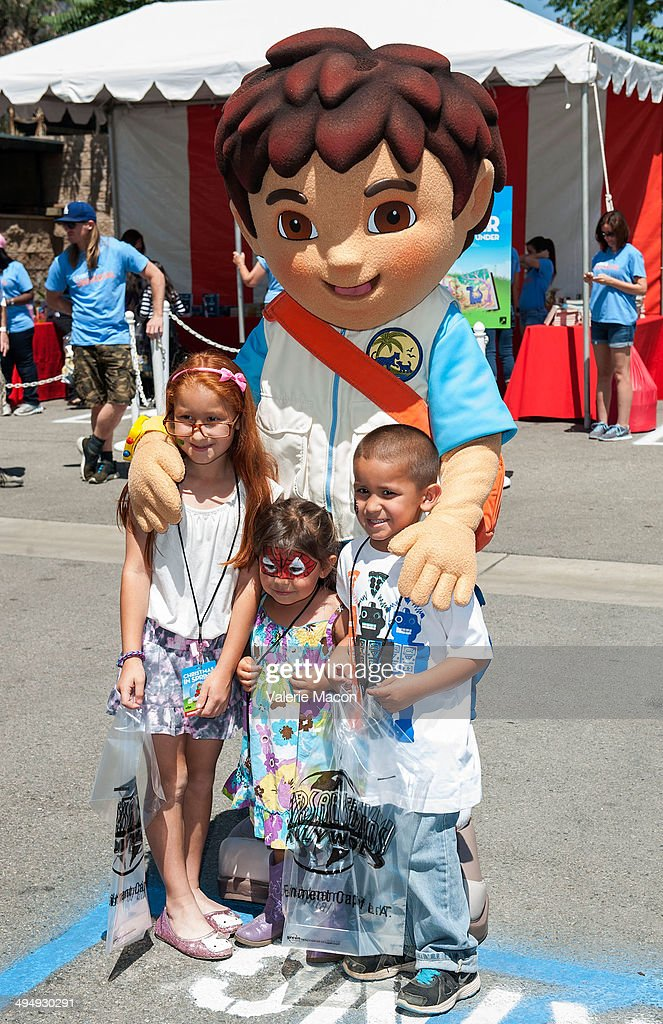 Diego Marquez attends Universal Studios Hollywood 23rd Annual 'Christmas In Spring' Charity Event at M.E.N.D Transitional Living Center on May 31, 2014 in Pacoima, California.