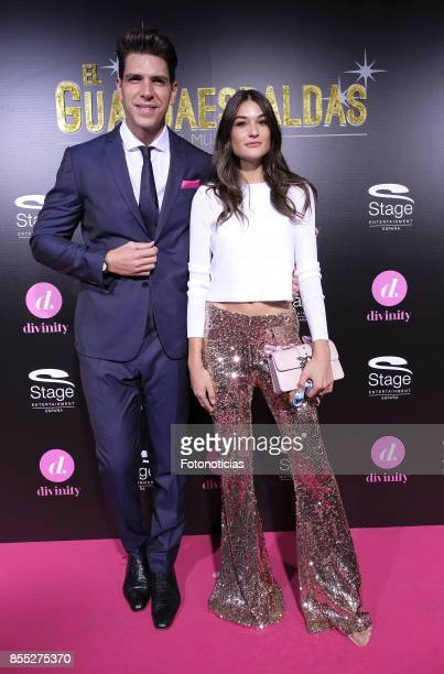 Diego Matamoros and Estela Grande attend the 'El Guardaespaldas' musical premiere at the Coliseum Theater on September 28 2017 in Madrid Spain