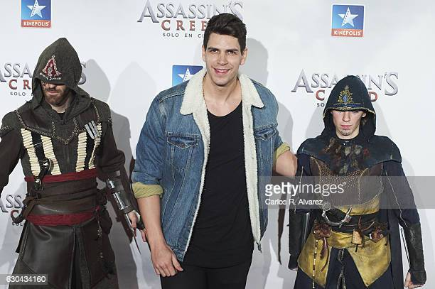 Diego Matamoros attends 'Assassin's Creed' premiere at Kinepolis cinema on on December 22 2016 in Madrid Spain